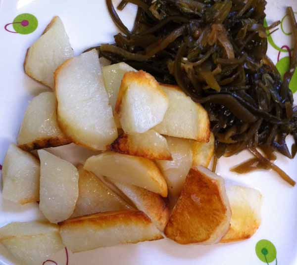 Картофель жаренный