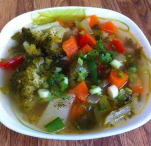 Суп постный, овощной