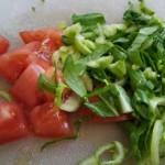 Суп овощной, с белой фасолью, репой и грибами.