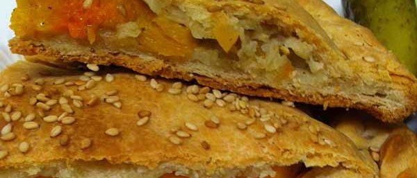 Пирог с тыквой и морковью