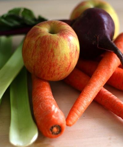 яблоко,свекла,морковь