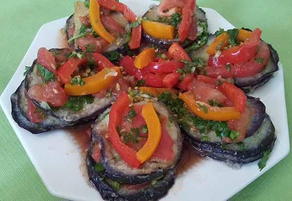 Сандвич баклажановый