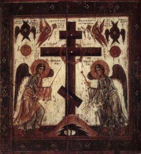 третья неделя поста Поклонение кресту