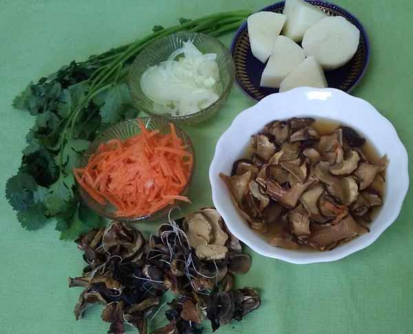 заготовка для грибного супа