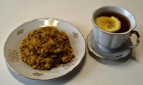 каша гречневая с рисом