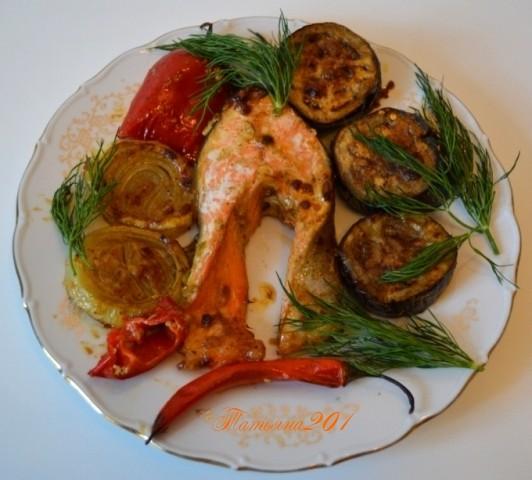 Рыба запеченая в духовке