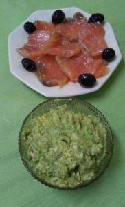 Закуска-пюре из авокадо