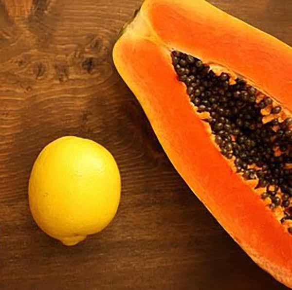 Папайя и лимон