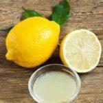 Лимон с оливковым маслом