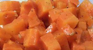 Морковь на пару